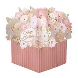 学研ステイフル BDレーザーポップカード B58596 ピンク│カード・ポストカード バースデー・誕生日カード