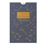 学研ステイフル BDレーザー箔カード B38294 星│カード・ポストカード バースデー・誕生日カード