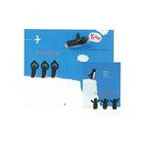 学研 応援カード ペンギン E25-959