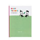 学研 TYメッセージブック E100-34 クローバー