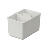 イノマタ化学 下着収納ケース S (2個組) 2952 ホワイト│収納・クローゼット用品 収納ケース