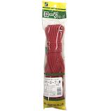 三友 ニューカラーロープ HR−147 赤│ロープ・ホース ロープ