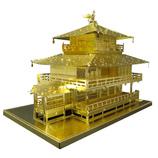 テンヨー メタリックナノパズル ゴールドシリーズ T−MN−6G 金閣寺