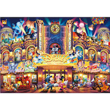 テンヨー ディズニー ドリーム シアター D-108-741 108ピース│パズル ジグソーパズル
