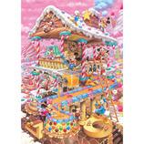 テンヨー おかしなおかしの家 DPG-266-574 ぎゅっと266ピース│パズル ジグソーパズル