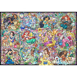テンヨー ディズニープリンセス コレクション ステンドグラス DS-1000-776 1000ピース│パズル ジグソーパズル