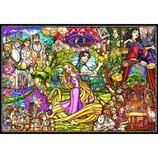 テンヨー 塔の上のラプンツェル ストーリーステンドグラス DP-1000-036 1000ピース│パズル ジグソーパズル