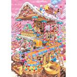 テンヨー おかしなおかしの家 D-300-275 300ピース│パズル ジグソーパズル