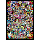 テンヨー ディズニー&ディズニー ピクサー ヒロインコレクション ステンドグラス DSG-500-489 500ピース│パズル ジグソーパズル