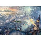 テンヨー ピーターパン Tinker Bell and Peter Pan Fly to Never Land D-1000-031 1000ピース│パズル ジグソーパズル