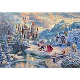 テンヨー 美女と野獣 Beauty and the Beast's Winter Enchantment D-1000-072 1000ピース│パズル ジグソーパズル