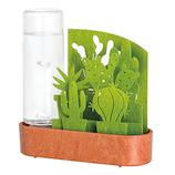 積水樹脂 自然気化式ECO加湿器 うるおいちいさな庭 ULG-BT-GR サボテン グリーン