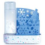積水樹脂 自然気化式ECO加湿器うるおい雪花 ULY-YB-TB ブルー