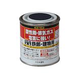 スーパー油性 80mL ツヤ消し 黒│油性塗料 鉄部建物用塗料