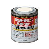 スーパー油性80mL赤│油性塗料 鉄部建物用塗料