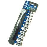 GISUKE ホルダー付ソケットレンチセット インチサイズ 9.5mm