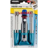 ベッセル(VESSEL) 検電差替5本組ドライバーセット 低圧用 TD−1300B