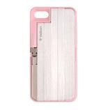 【iPhone7/8】ベルボン 自撮り棒付きケース ピンク