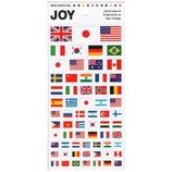 MW JOYシリーズ シール 国旗 72897│シール シール・ステッカー