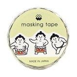 マインドウェイブ マスキングテープ ダイカット 92740 おすもうさん