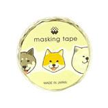 マインドウェイブ マスキングテープ ダイカット 92741 ニッポンの犬