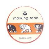 マインドウェイブ マスキングテープ 92907 サル サル