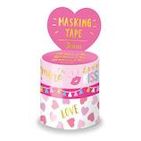 マインドウェイブ マスキングテープ アソート 箔押し 3巻セット 94129 MORE PINK│シール マスキングテープ