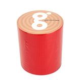 古藤工業 gbkガムテープバックキット ガムテープ 赤 幅5cm×全長5m巻