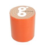 古藤工業 gbkガムテープバックキット ガムテープ オレンジ 幅5cm×長5m巻