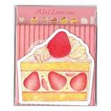 たけいみき ミニレターセット LS11775 ケーキ