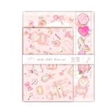 たけいみき レターセット ピンク LS13001