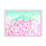クローズピン 桜グリーティングカード GC14576