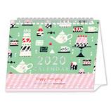 【2020年版・卓上】 クローズ・ピン TomokoHayashi 卓上カレンダー CL95511