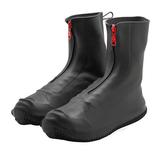 カテバプラス ブーツ型シューズカバー M KTV-655 ブラック│レインウェア・雨具 レインブーツ