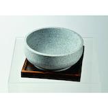 パール金属 韓国式 石焼きビビンバ鍋 置台付 18cm H-2709│鍋 フォンデュ鍋・バーニャカウダポット