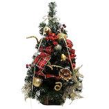 【クリスマス】 東急ハンズ限定 半面フラットツリー HSM-5229