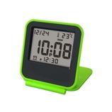 誠時 LCDコペ グリーン LCD-013GR│時計 置き時計