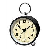 誠時 アルコS LW−002 ブラック│時計 置き時計