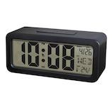 誠時 デジタル置時計 クロル LCD007 ブラック