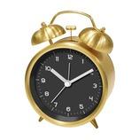 SJC ツインベルクロック PL−002 ゴールド│時計 目覚まし時計