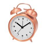 SJC ツインベルクロック PL−002 コッパー│時計 目覚まし時計