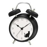 アニマルボイスクロック AC‐020 ネコ│時計 置き時計