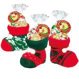 【クリスマス】 エイム クリスマス ソックスブーツS 【店頭のみ商品】│非常食 乾パン・お菓子