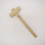 木槌(樫) 36mm│打ち付け・締め付け道具 ハンマー・金槌