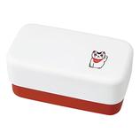 伝統玩具 長角弁当箱 招き猫