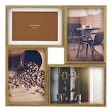 LANGLE 木製フォトフレーム LA09-40-BR ブラウン│アルバム・フォトフレーム フォトフレーム・写真立て