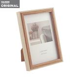 東急ハンズオリジナル 壁掛け出来る木製フォトフレーム はがき アイボリー│アルバム・フォトフレーム フォトフレーム・写真立て