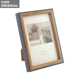 東急ハンズオリジナル 壁掛け出来る木製フォトフレーム はがき ネイビー│アルバム・フォトフレーム フォトフレーム・写真立て
