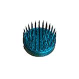 マルフジ 豆小丸山型カラー青 Φ31