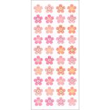 オクヤマ パールシール 図形桜 PA378 春│シール